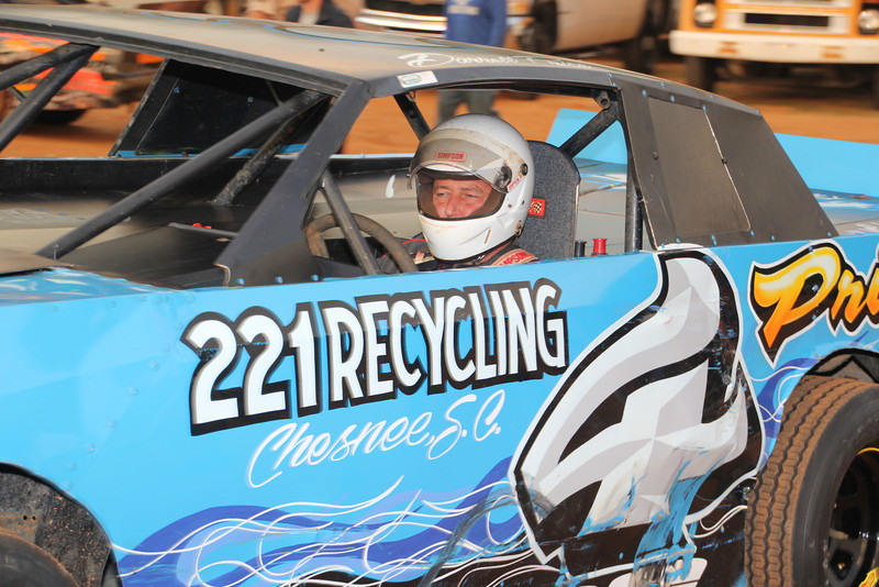 #4 Darrell Price...2013 Stock 8 Champion at Harris Speedway.