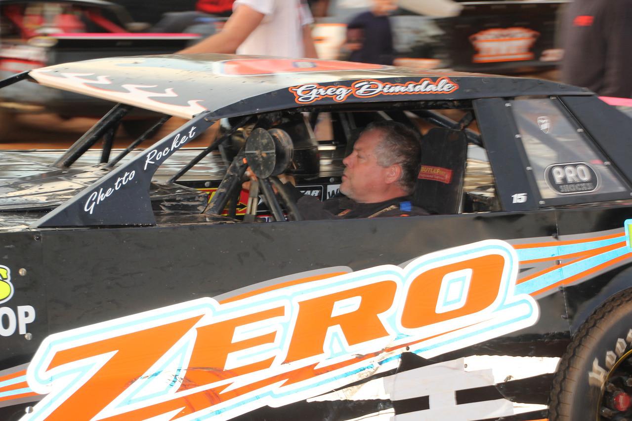 another #ZERO car , Greg Dimsdale...limited Sportsman winner