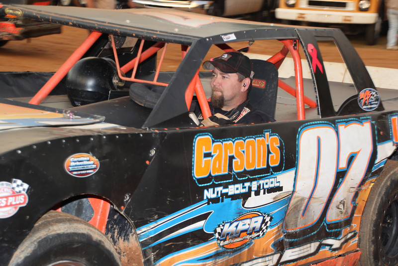 #07 Lanny Irby....2013 Crate Sportsman Champion at Harris Speedway.
