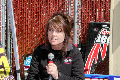 Ms Ervin will be running I-77 Speedway this year