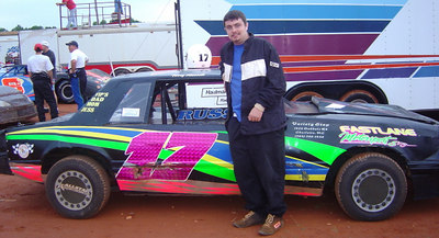 18 year old Terry Russell with his rookie 4 #17