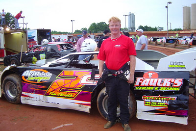 #2 Tim Christie late model class