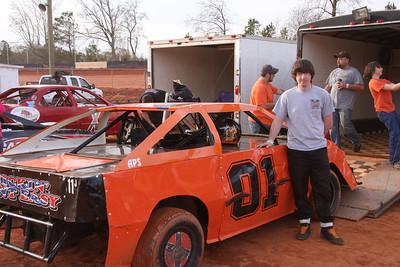 Tyler Funderburk was 5th in semi mod 4 cylinder