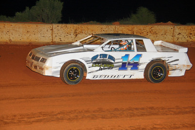 #14 Gene Gene the Dancin' machine  Bennett was 1oth in crate sportsman