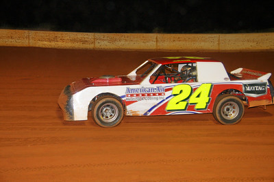 #24 Chad Adams the American Air car was 7th in crate sportsman