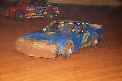 Aaron Harris in his old car