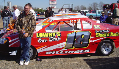 Gary Dillinger has a hot looking ride