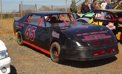 Greg Murphy has one of three MacD race team cars