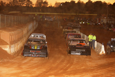 cars line up for races