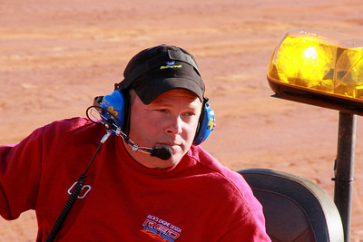 I-77 track manager Andy Thompson