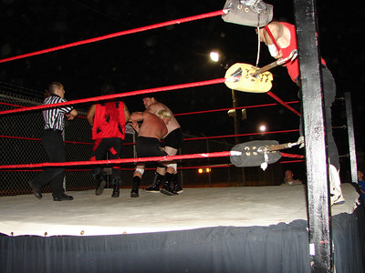 The tag team match was the fight of the night.