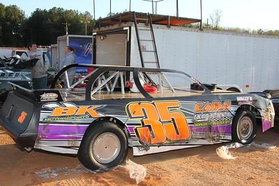 Billy Knight drives #35