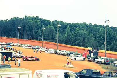 Lancaster Speedway is in the piney woods of South Carolina
