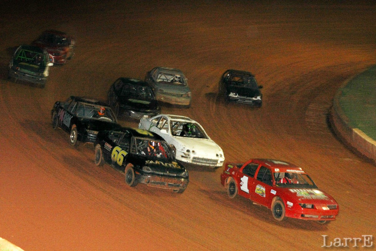 One of the U Car heat races