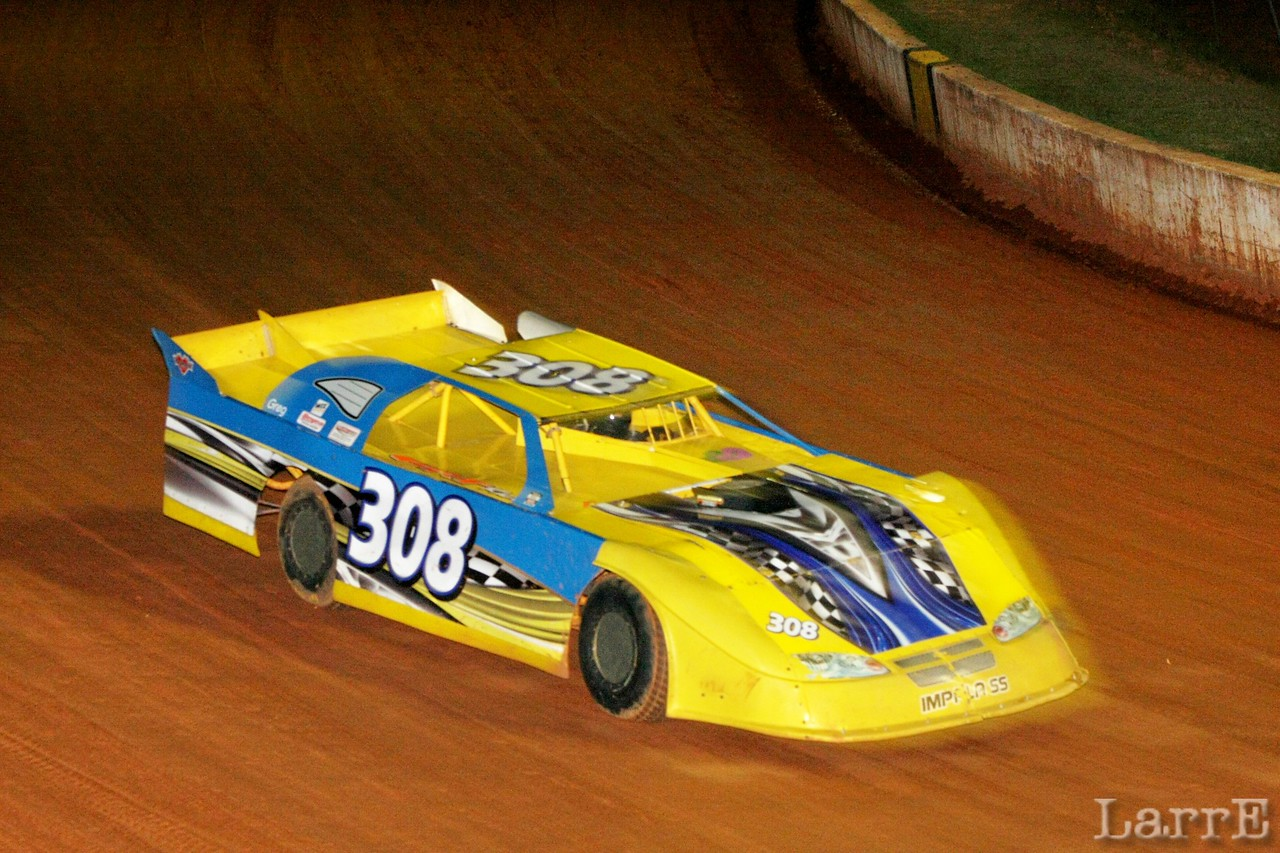 the Waxhaw Wildman Manley Chaney got 7th in the Crate Late model race