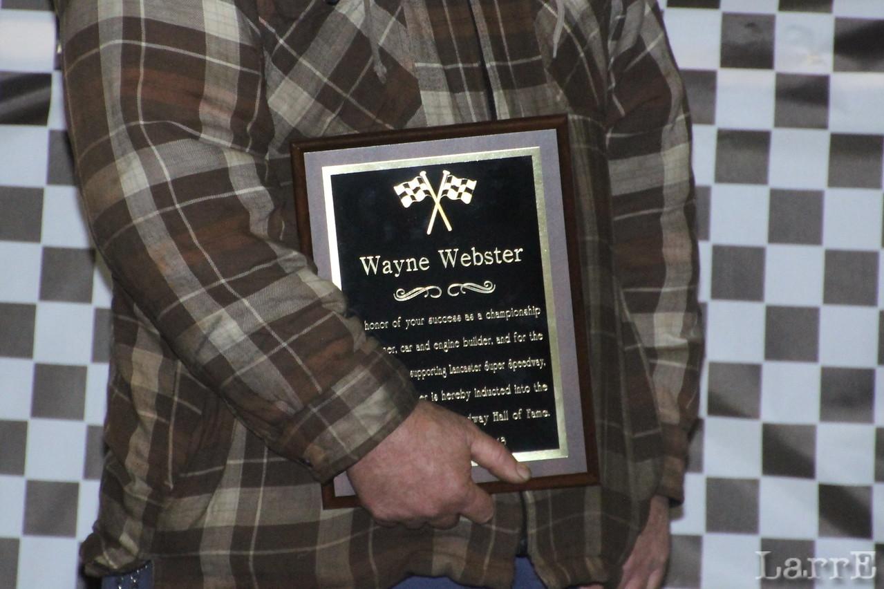 Wayne's plaque