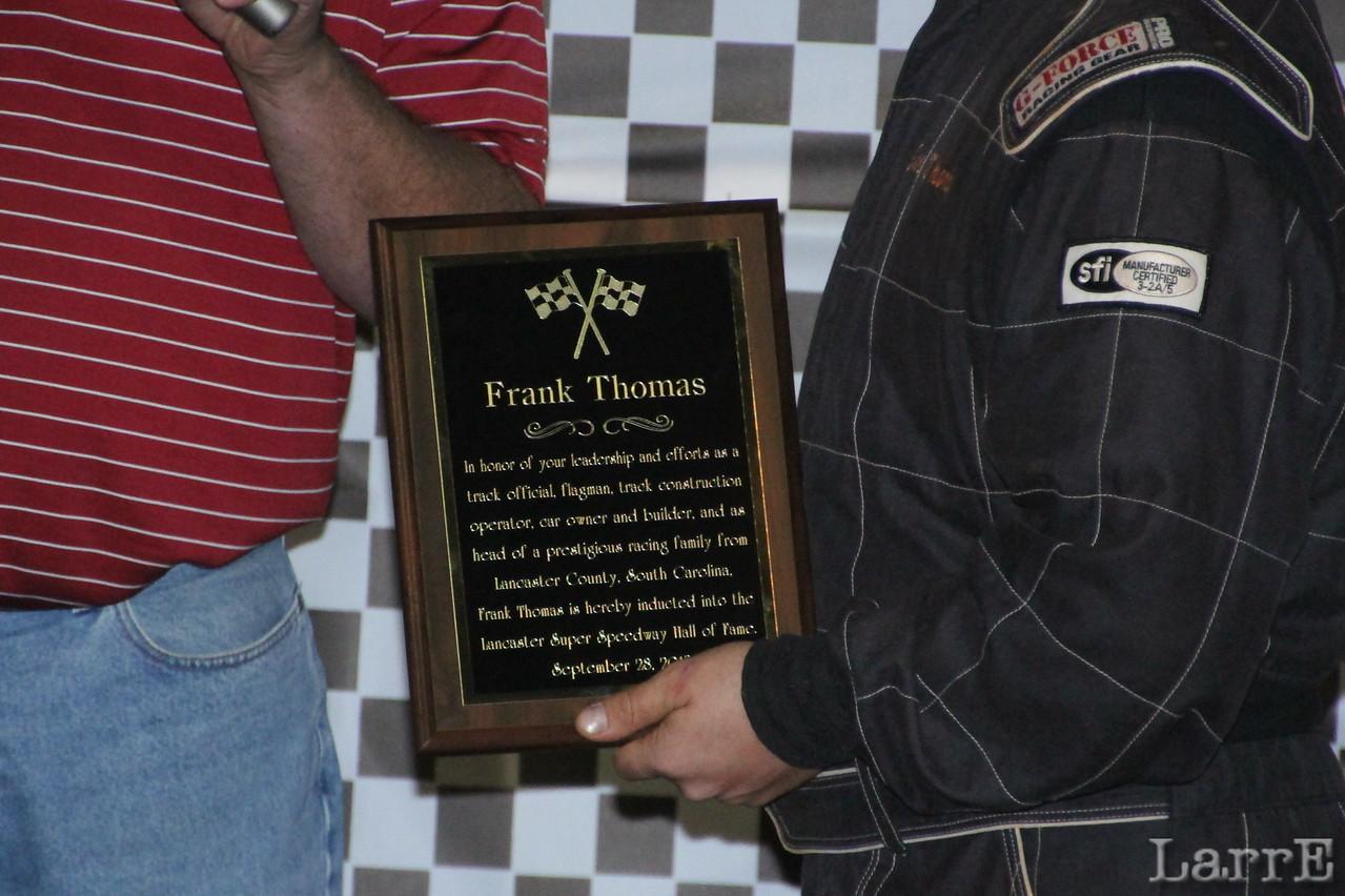 Frank Thomas's plaque