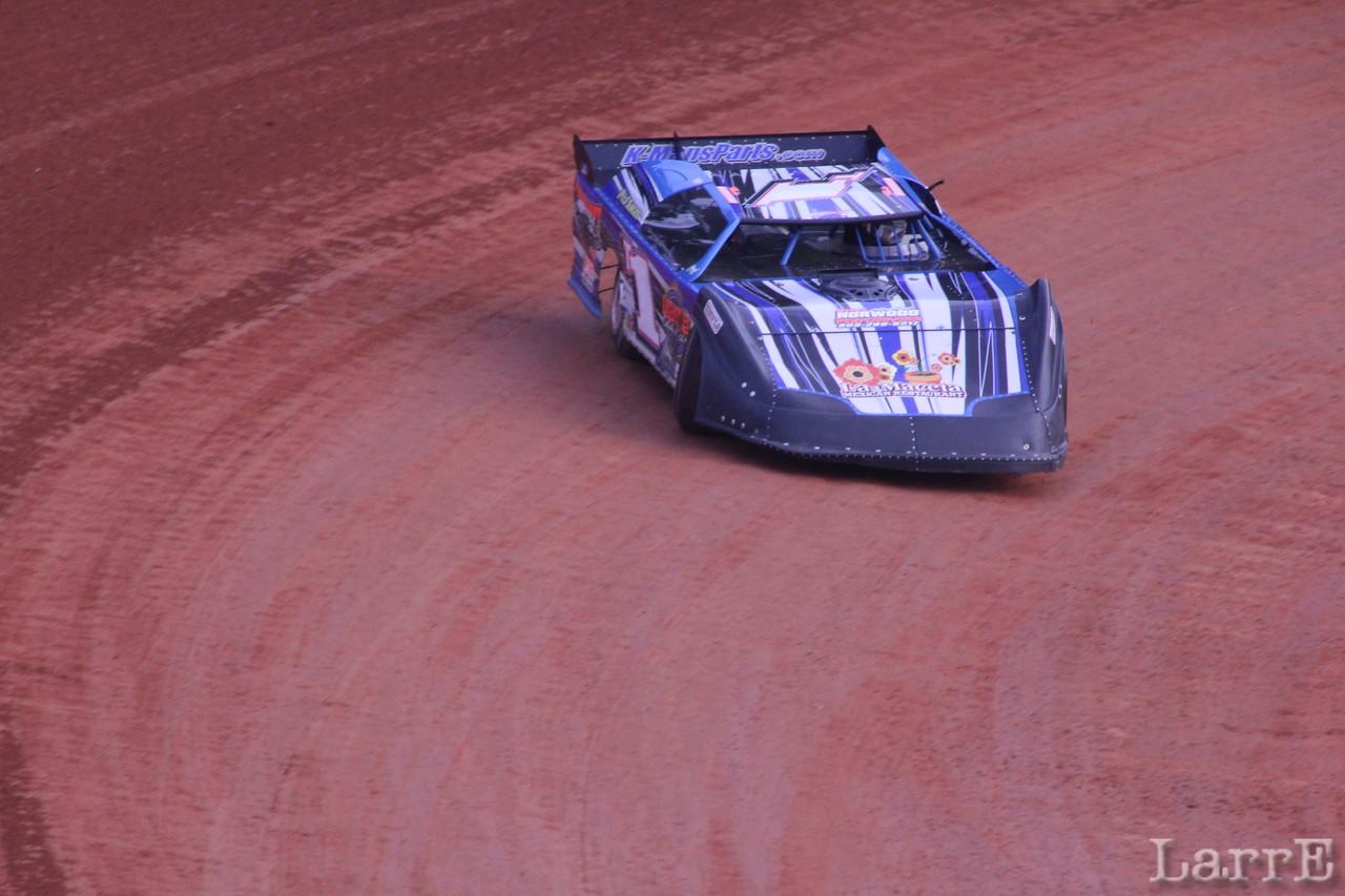 Timbo will win the NDRA crate late model race tonight.
