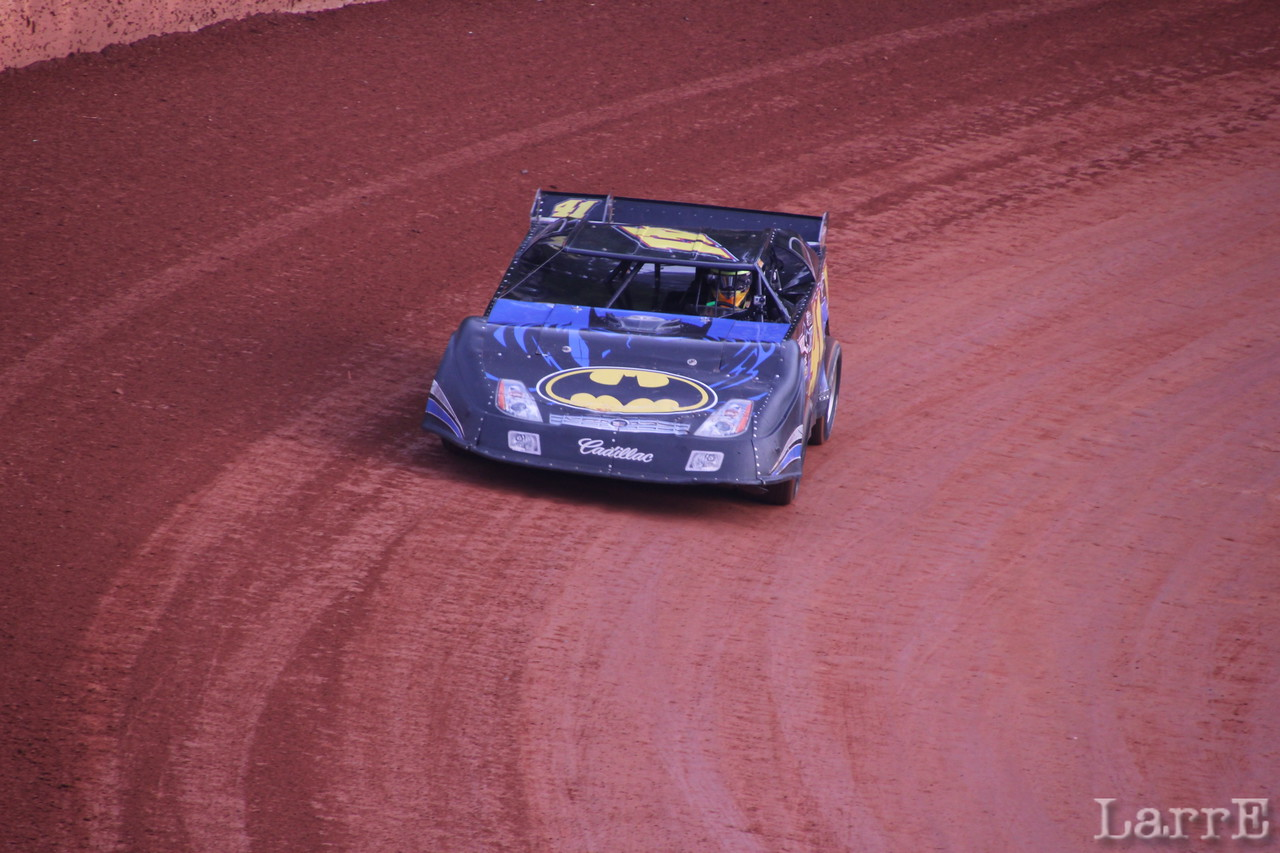 Tyler Piercy was 6th in the batmobile