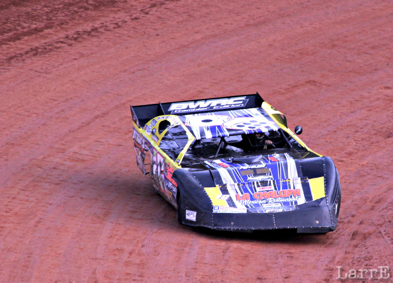 Brandy Baker will finish 9th in crate late model class