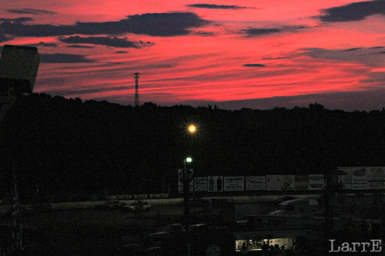"""""""Red sky at night, sailor's delight. Red sky in morning, sailor's warning"""""""
