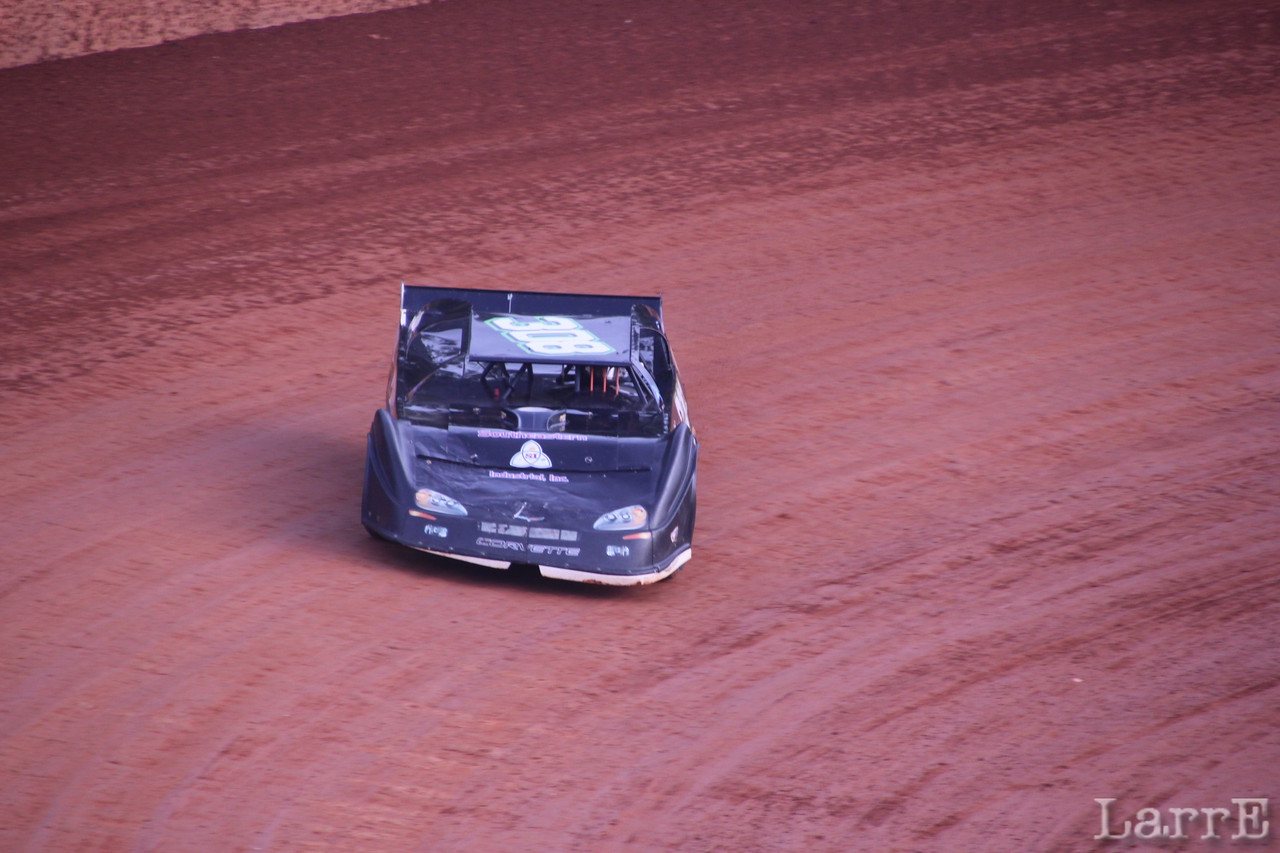 Manley Chaney will finish 3rd in crate late model class