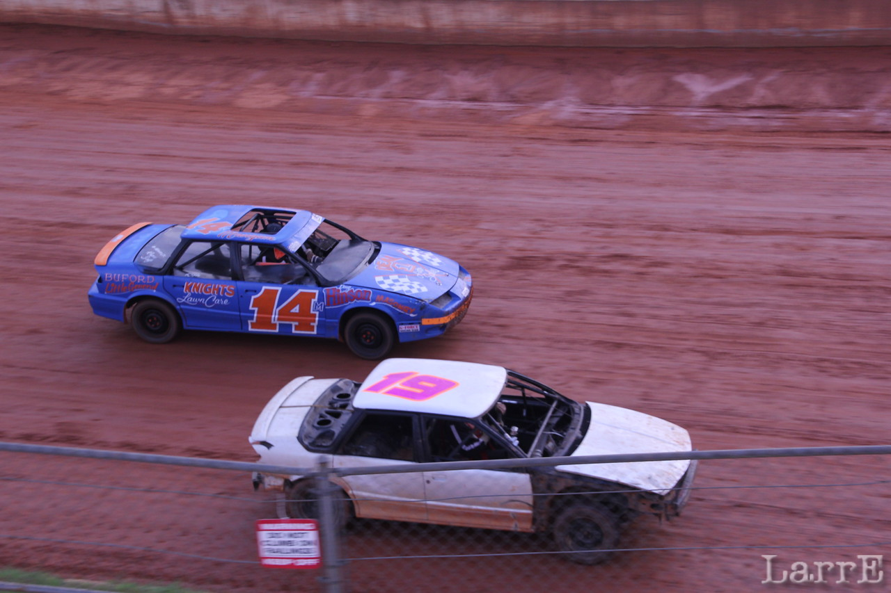 #14 Steven Self, was 2nd and Michael Lacey #19 was 3rd in U car class