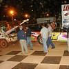 ever see a car towed OUT of victory circle