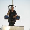 Butch Cole in his perch
