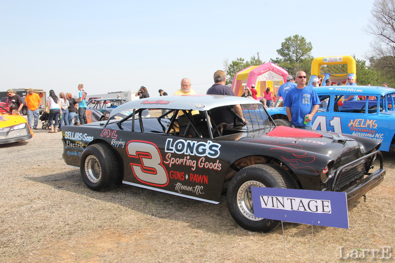 Another one of the Kenneth Deese cars to run in vintage class