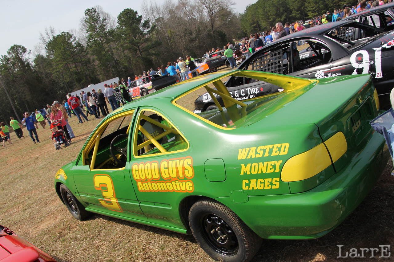 one of the Laney fleet of race cars.