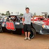 NATHAN GEIST is in his first race tonight