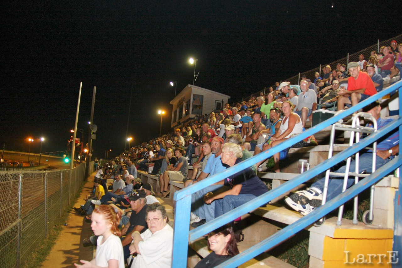 a great night at Lancaster Speedway