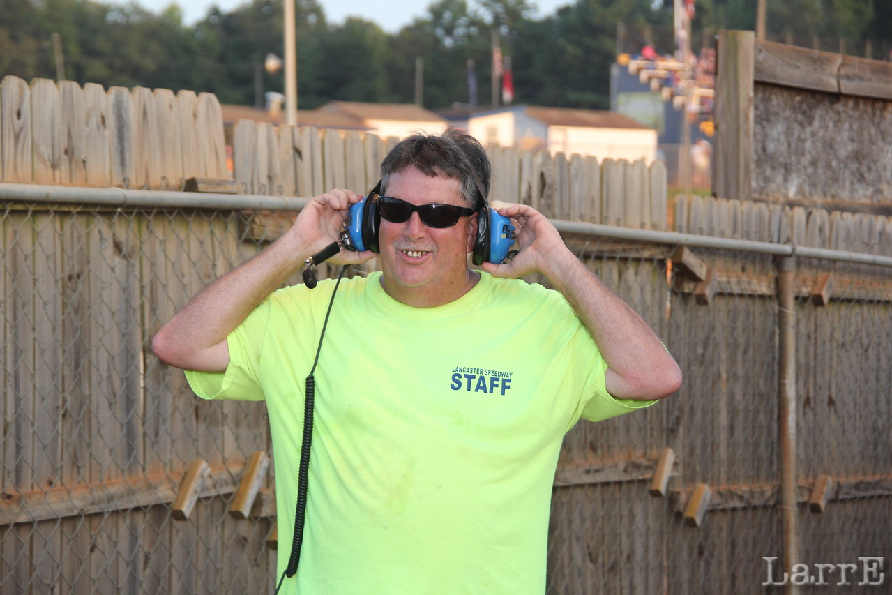 Buster Bell is part of the Speedway staff. And a heck of a nice guy too.
