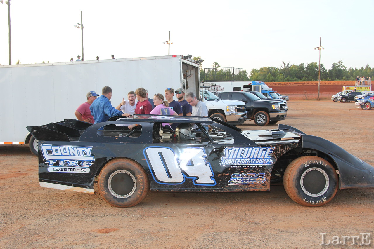 Richie Corley  was 6th in late model class.
