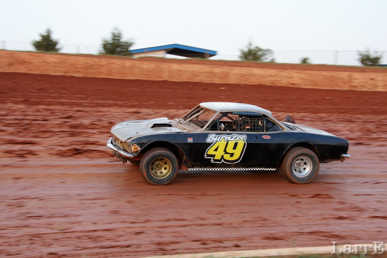 Burnzee's Corvair was fast.... for a while