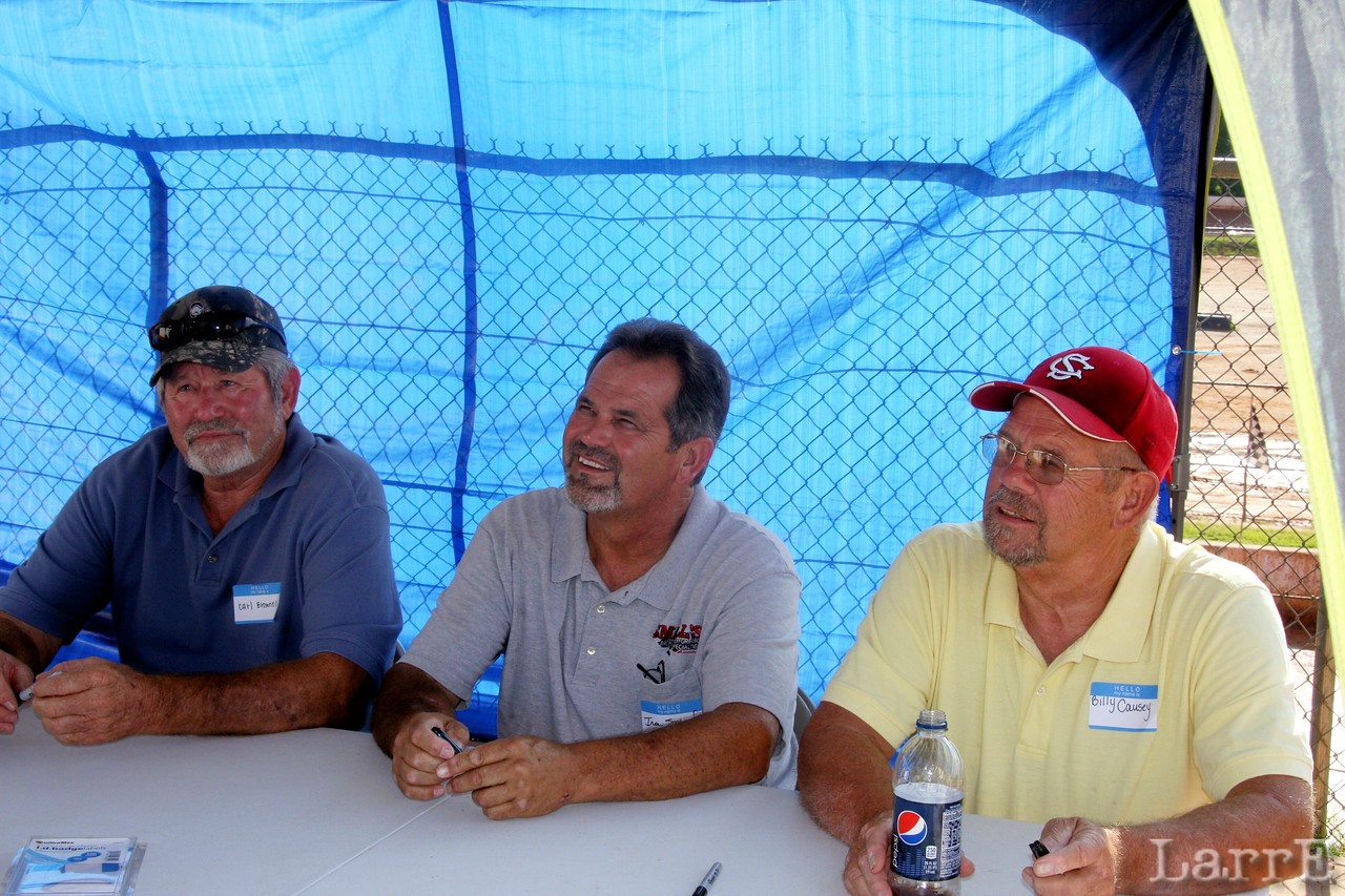 Carl Brownell, Ira Small and Billy Causey