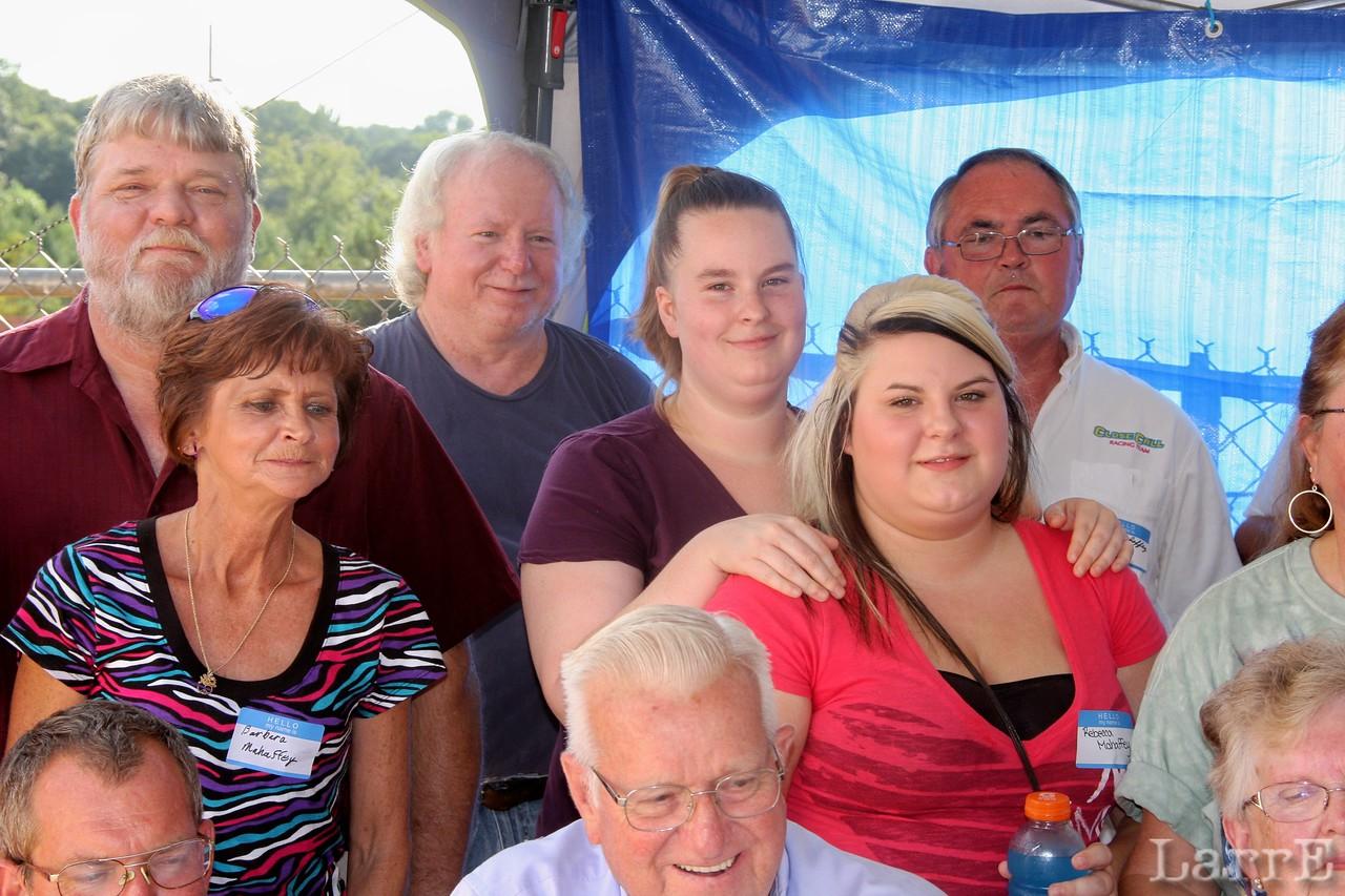 some of the Mahaffey clan