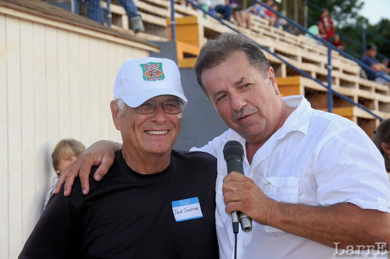 famous racer Dub Simpson and Duane Goins