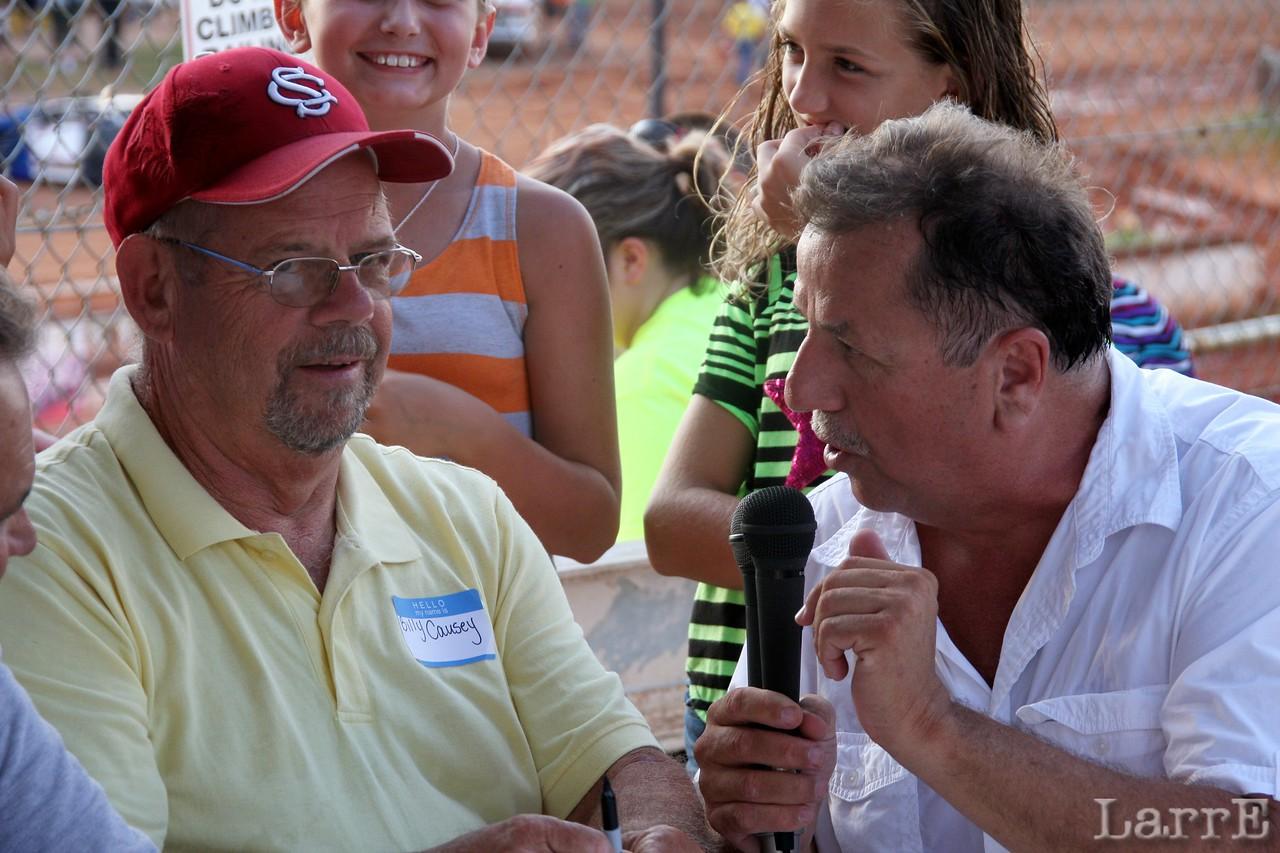 Billy Causey Lancaster Speedway Hall of Fame member