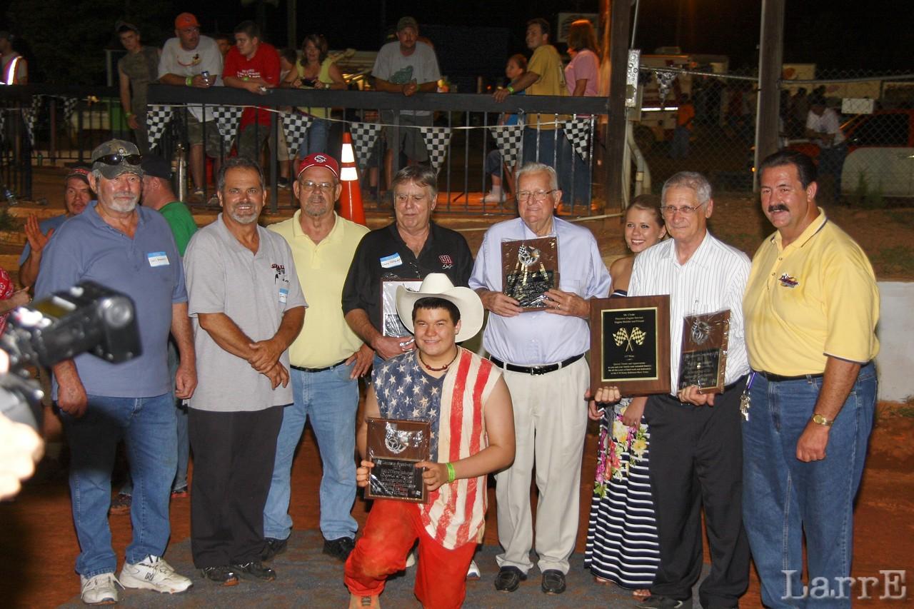 Lancaster Speedway Hall of Fame induction celebration
