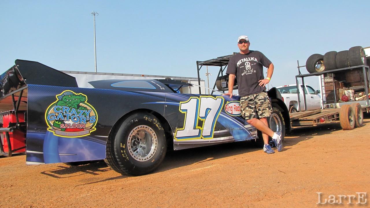 Shaun Medlin drives the King Car