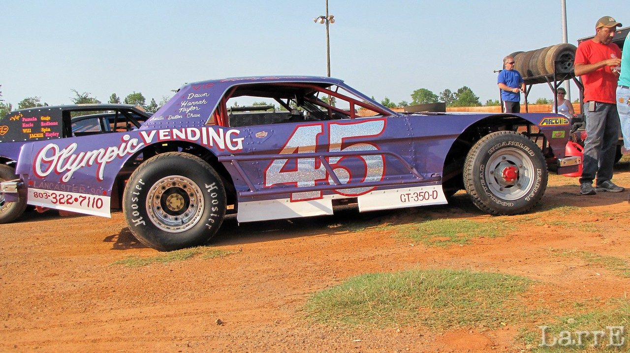 #45 Marty Spittle..took home the Vintage money ($50)