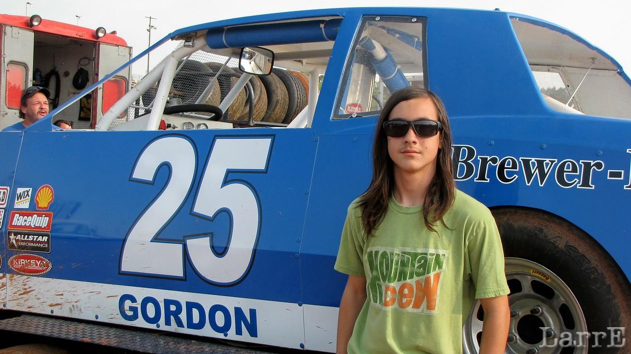 John Gordon, or is it Jane? Just kidding... wish I had some hair