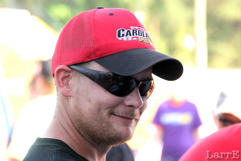 the Black Jack team's driver..David Motes.