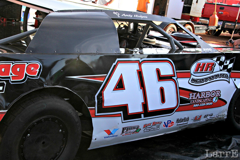 Andy Hodges....Brent's father...drives the #46.