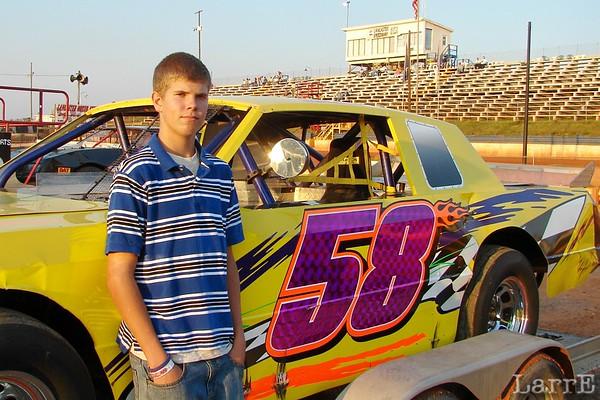 Lancaster Speedway, SC  Oct 4, 2008