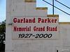 The turn four grandstand is named for a Lancaster legend...Garland Parker.