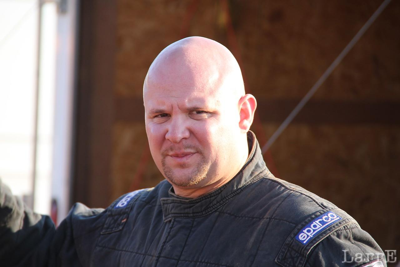 Jeff McGuirt runs a flesh colored helmet.