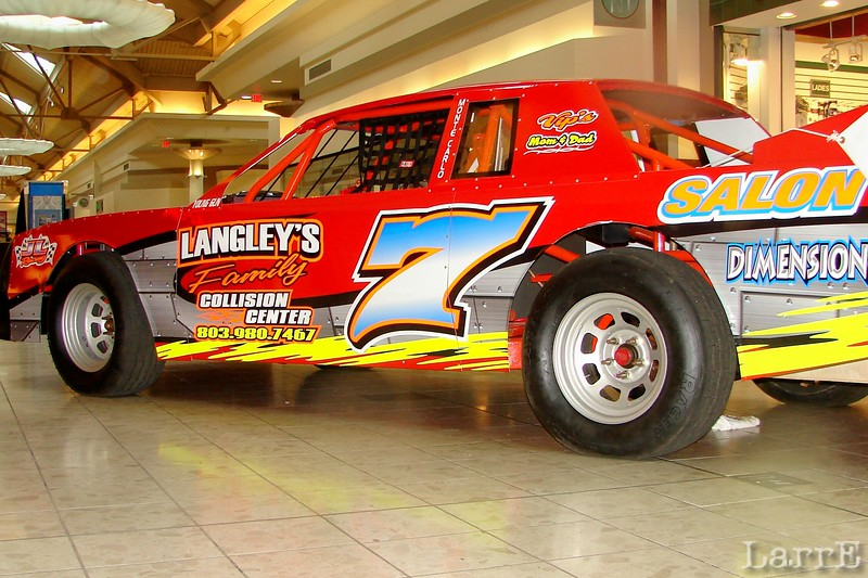 Josh Langley will drive the #7